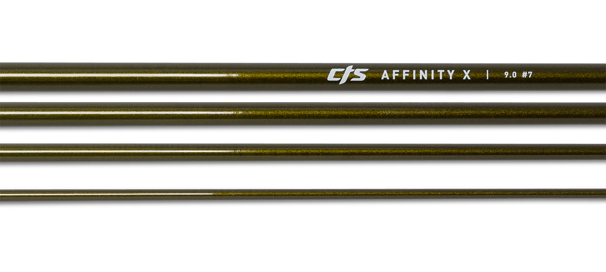 CTS Affinity X 9.0 #7 | Dark Golden Olive