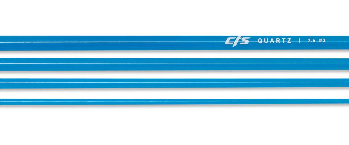 CTS Quartz 376 Fly Rod Blank | Azure