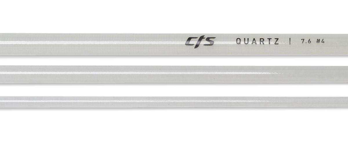 CTS Quartz 476 Fly Rod Blank | Smoke