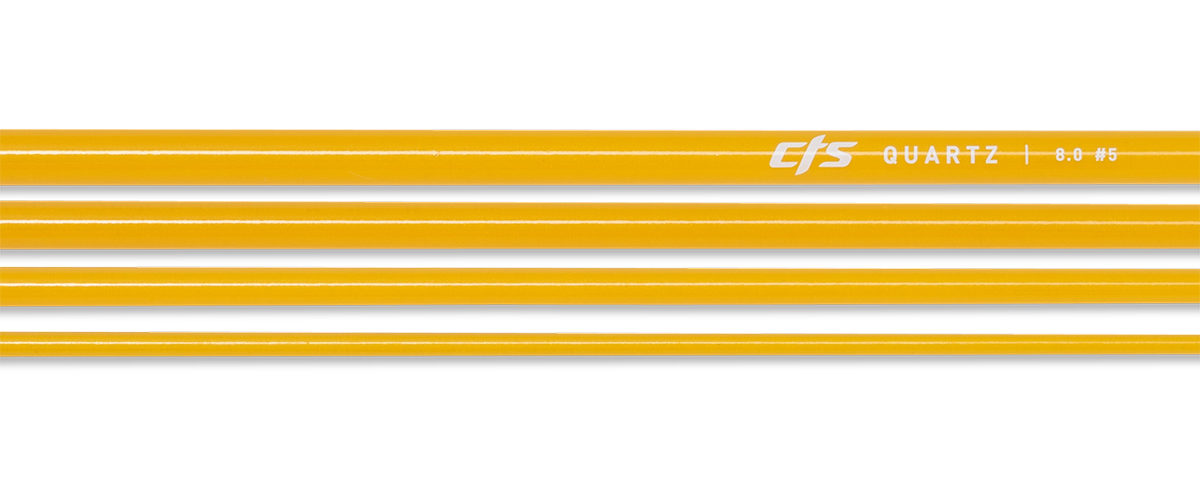 CTS Quartz 580 Fly Rod Blank | Golden Honey