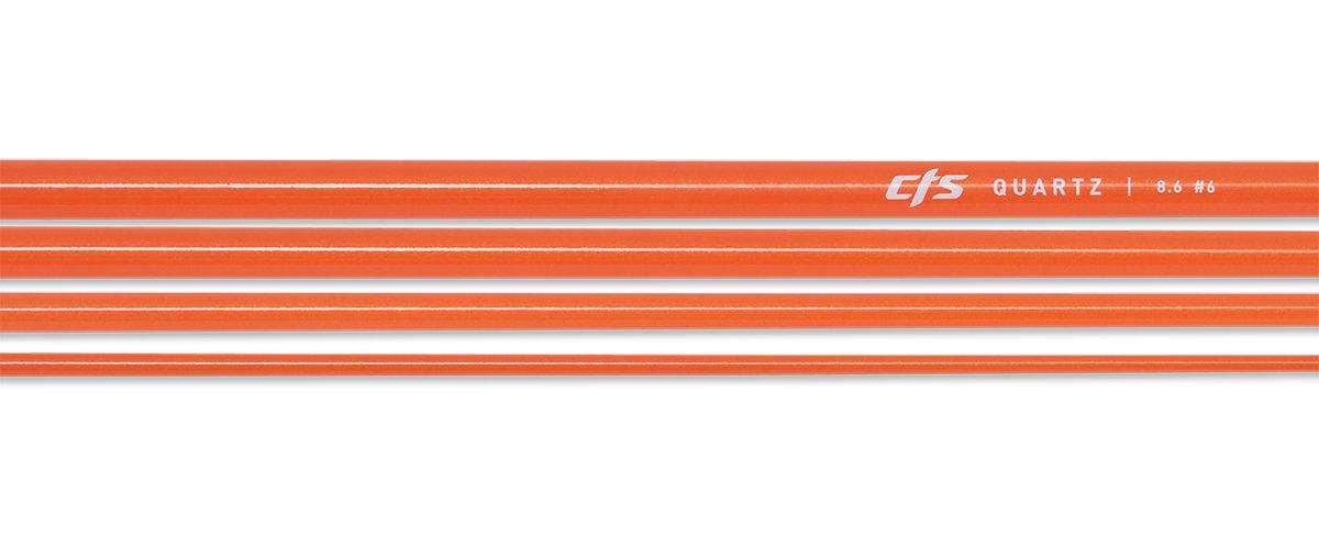 CTS Quartz 686 Fly Rod Blank | Electric Orange