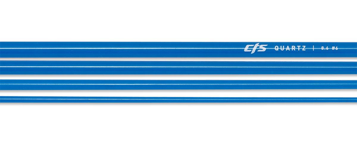 CTS Quartz 686 Fly Rod Blank | Golden Azure