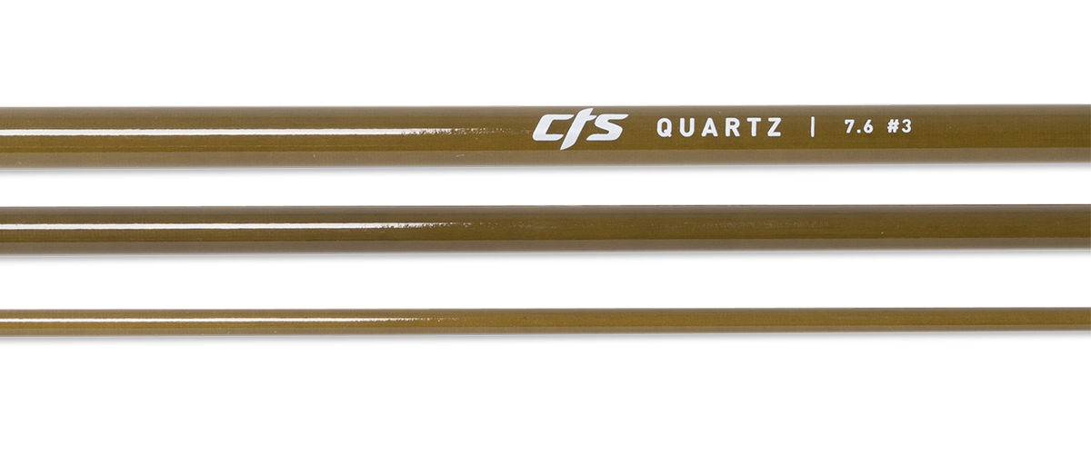 CTS Quartz 376 Fly Rod Blank | Seaweed