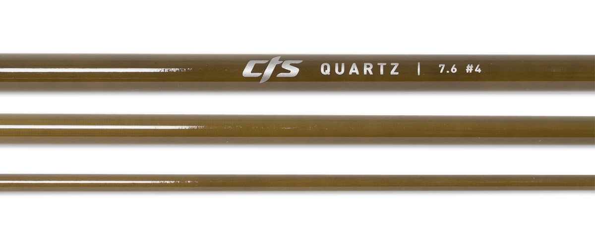 CTS Quartz 476 Fly Rod Blank | Seaweed