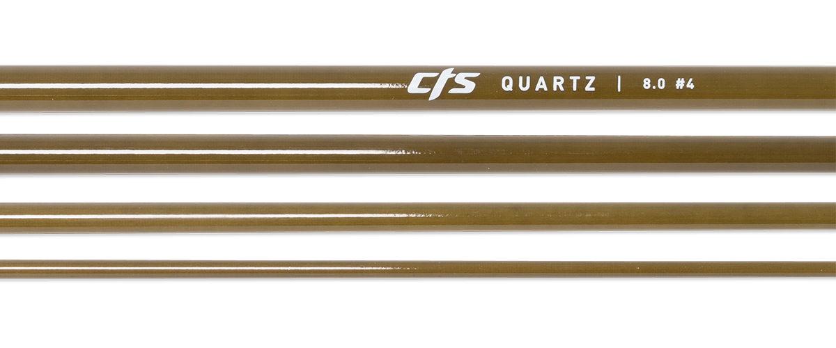 CTS Quartz 480 Fly Rod Blank | Seaweed