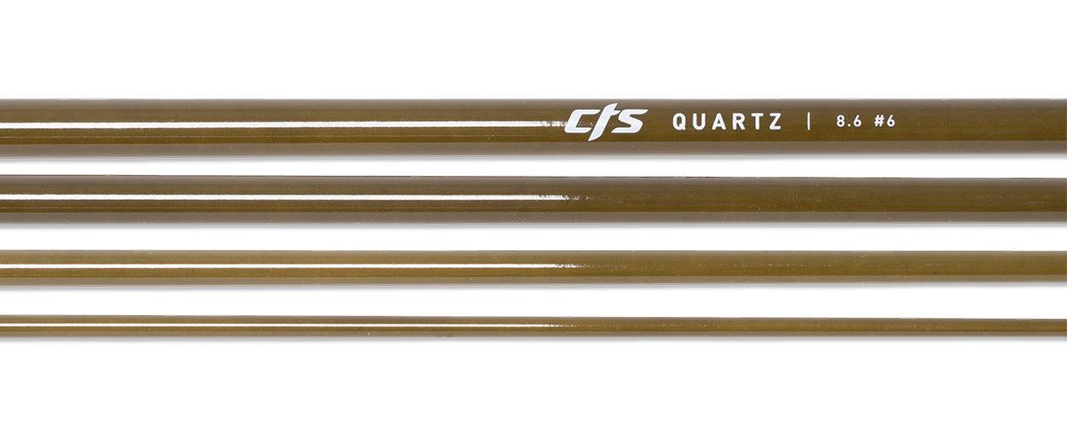 CTS Quartz 686 Fly Rod Blank | Seaweed