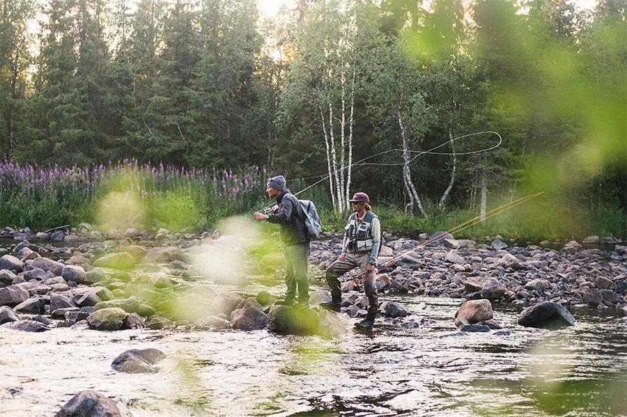 Fly Fishing Swedish Lapland   CTS New Zealand